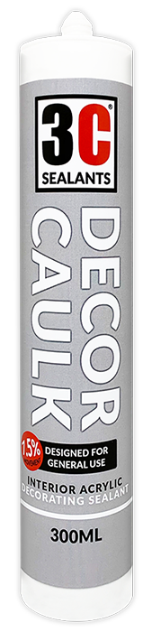 Decor Caulk Product Page Tube