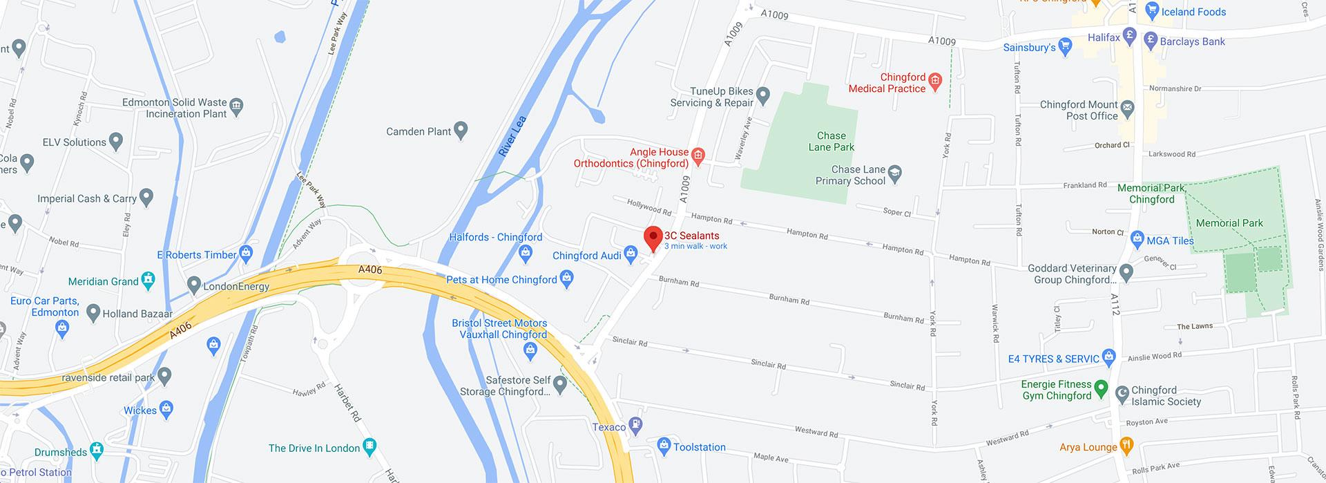 3C Sealants On The Map