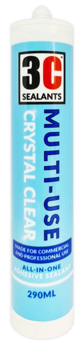 3C Sealants Multi-Use Crystal Clear
